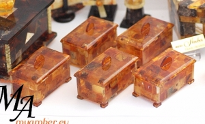 Amber BOXES - 5PCS | Amber Giftswith Certificate | 11059