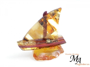Amber Sailboat - Amber Gifts +cert 10217 (1) (1)